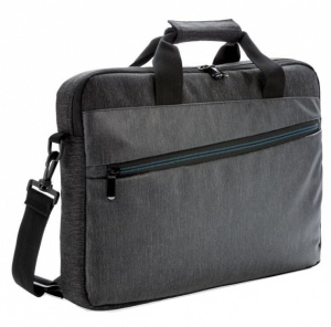 XD Collection laptoptas 15,6 inch polyester/PVC grijs