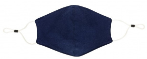 XD Collection mouth cap 2-layer filter unisex cotton blue
