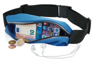 XD Collection sportriem smartphone 10 cm polyester blauw
