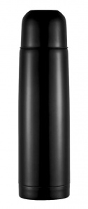 XD Collection thermos flask 0.5 litre 25.3 cm stainless steel/PP black