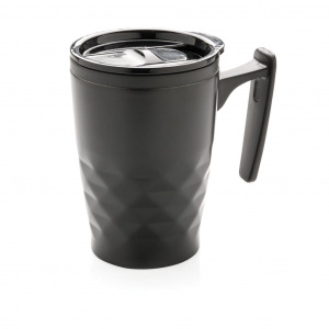 XD Design thermos flask 0Geometric.38 liter stainless steel black