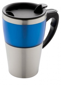 XD Design 0Highland.35 litre stainless steel/ABS blue/silver thermos flask