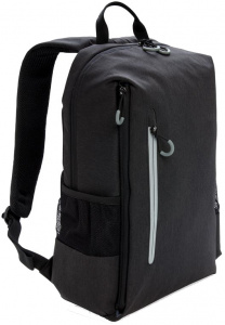 XD Xclusive laptop backpack USB 15.6 inch polyester zwart