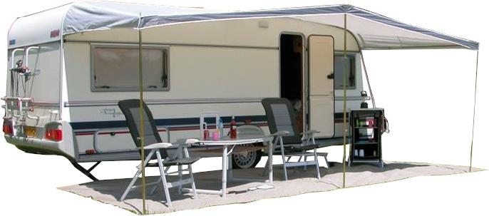 Auvent universel Eurotrail pour caravane.