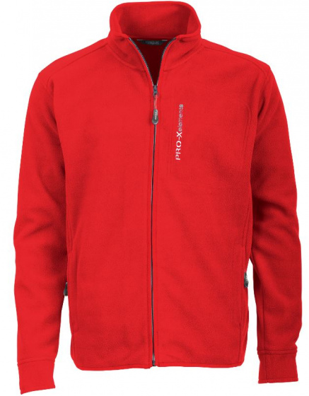 Pro-X Elements outdoorvest Ohio heren fleece rood