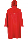 Pro-X Elements regenponcho High Peak polyester rood